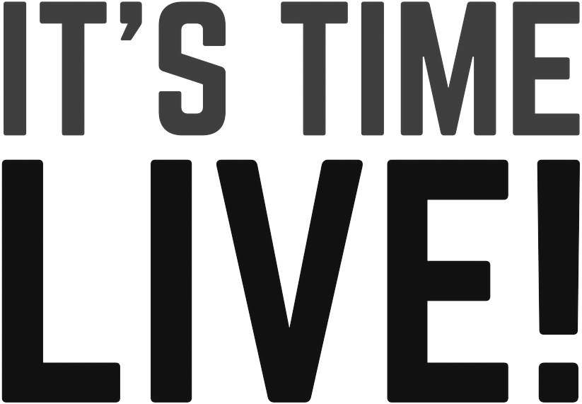 IT'S TIME LIVE