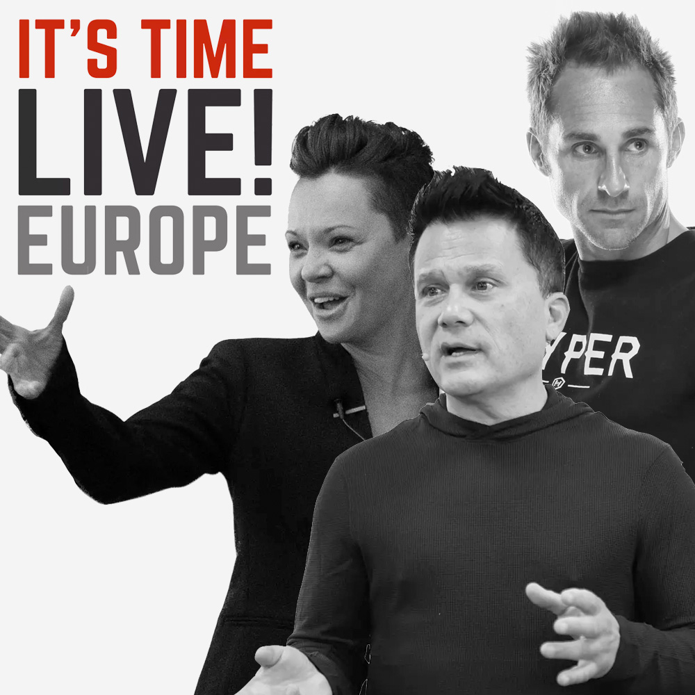IT'S TIME LIVE EUROPE